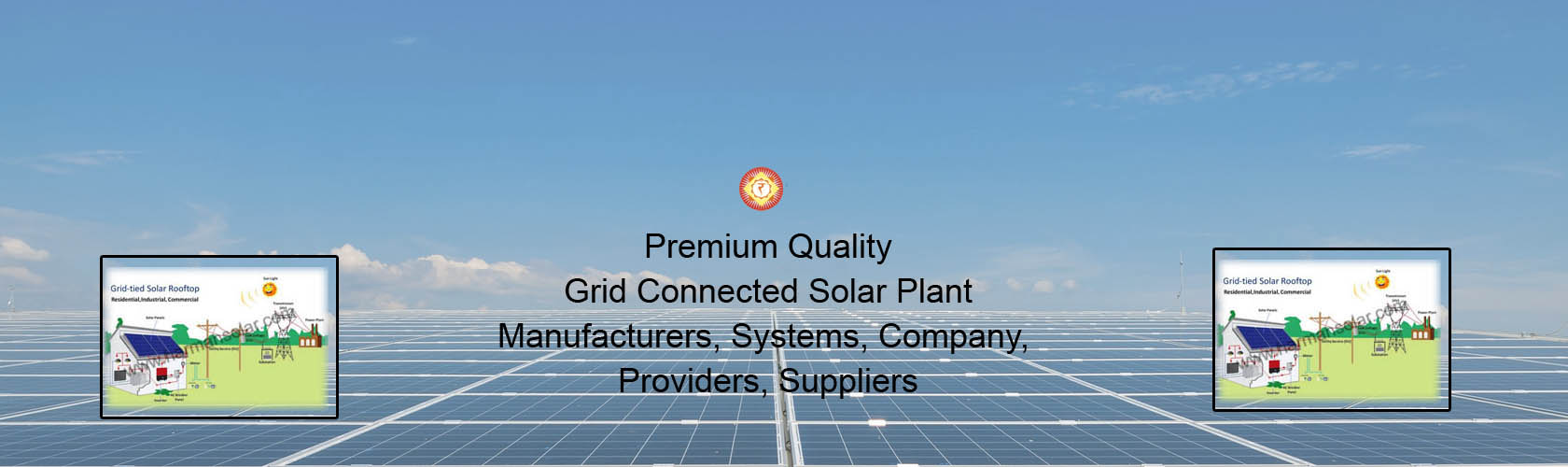 Grid Connected Solar Plant