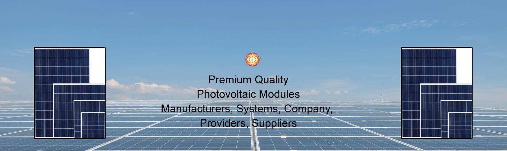 Photovoltaic Modules
